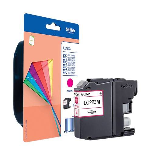 Brother Cartouche jet d'encre Brother D'origine LC223M Magenta