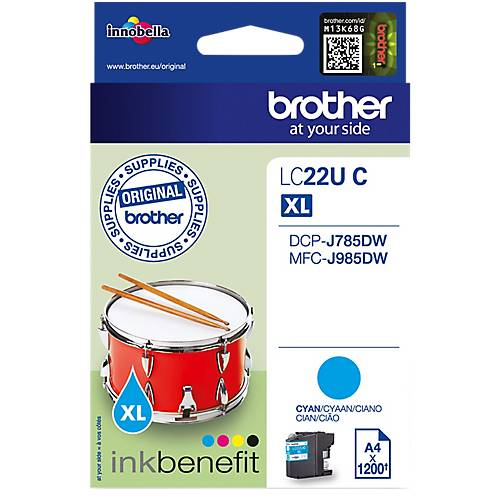 Brother Cartouche jet d'encre Brother D'origine 106R02604 Cyan