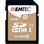 Emtec ECMSD8GHC10GP SDHC Class 10 UHS-I U1 EMTEC Carte mémoire EMTEC Gold... par LeGuide.com Publicité