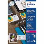 avery  Avery Cartes de visite Avery Quick and Clean 220 g/m² 85 x 54 mm... par LeGuide.com Publicité