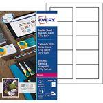 avery zweckform  AVERY Zweckform Cartes de visite AVERY Zweckform Quick... par LeGuide.com Publicité