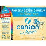 canson infinity  Canson Papier couleur Canson Mi-teintes vives 160 g/m²... par LeGuide.com Publicité