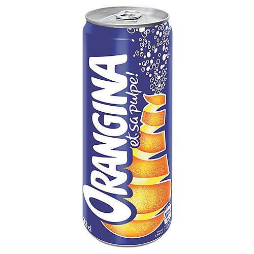 ORANGINA Canette - 24 Unités de 330 ml