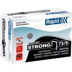 rapid  Rapid Agrafes Rapid 73/8 - 5000 Agrafes Rapid 73/8. Largeur: 74... par LeGuide.com Publicité