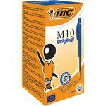 bic  BIC Stylo bille rétractable BIC M10 0.4 mm Bleu - 50 Unités Stylos... par LeGuide.com Publicité