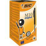 bic  BIC Stylo bille rétractable BIC M10 0.4 mm Noir - 50 Unités Stylos... par LeGuide.com Publicité