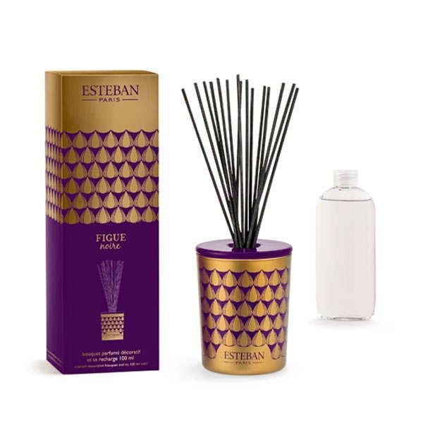 Esteban Bouquet parfumé décoratif - Figue noire - Le kit