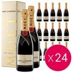 moet & chandon  Moët et Chandon 24 bouteilles Champagne Moët et Chandon... par LeGuide.com Publicité