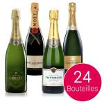 BienManger.com Lot découverte Champagne - 24 bouteilles - 24 bouteilles... par LeGuide.com Publicité