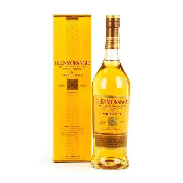Glenmorangie Whisky Glenmorangie The Original 10 ans - single malt - 40% - Bouteille 70cl + étui