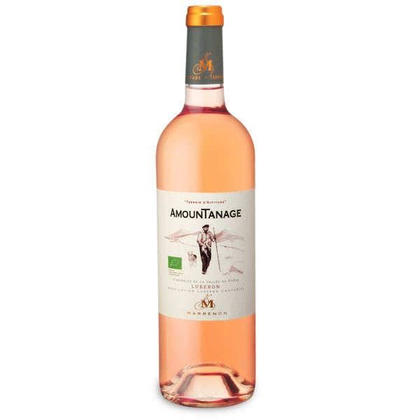 Marrenon Amountanage vin rosé Luberon bio - 13,5% - 2019 - Bouteille 75cl