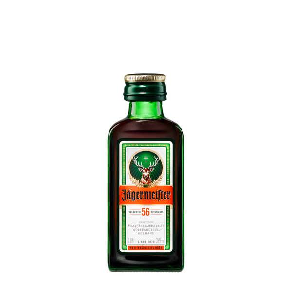 Jägermeister Mignonnette de Liqueur Jägermeister 35% - Bouteille 2cl