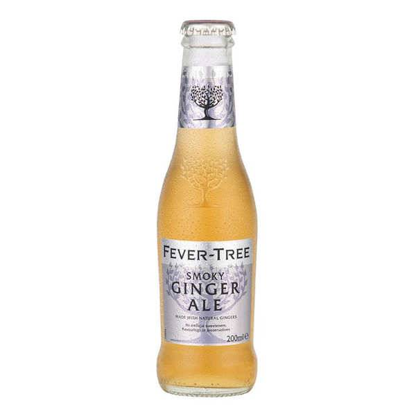 Fever Tree Smoky Ginger Ale - Bouteille verre 20cl