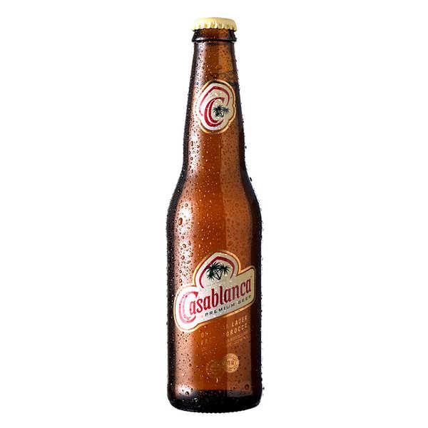 Société des Brasseries du Maroc Casablanca Premium - Bière du Maroc 5% - Bouteille 33cl