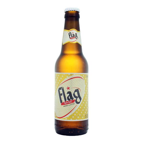 Société des Brasseries du Maroc Flag spéciale - Bière du Maroc 5.2% - Bouteille 33cl