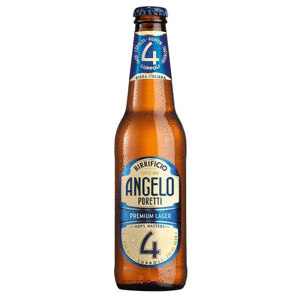 Birrificio Angelo Poretti Angelo Poretti 4 Lupolli - Bière italienne 5.5% - Bouteille 33cl