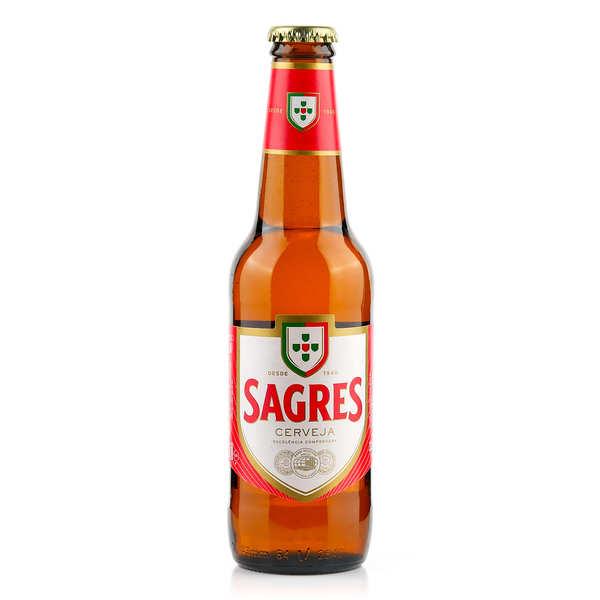 Brasserie Sagres Sagres - Bière Blonde Portugaise - Bouteille 33cl