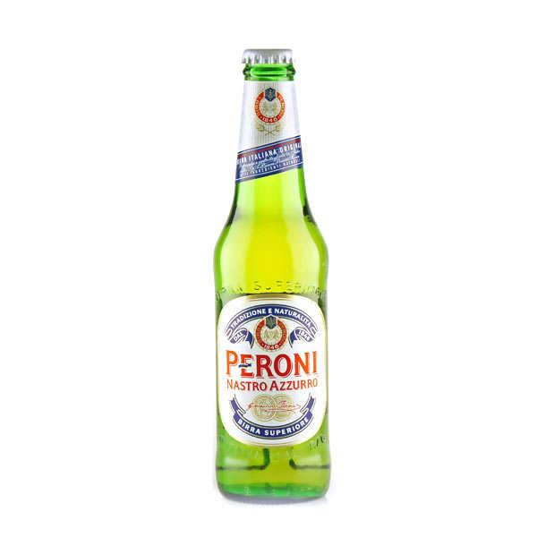 S.p.A. Birra Peroni Peroni Nastro Azzurro - Bière Blonde Italienne - 5,1% - Bouteille 33cl