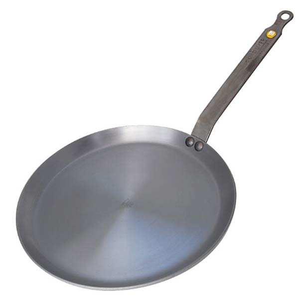 de Buyer Poêle à crêpes mineral B element - de Buyer - Poêle à crèpes diamètre 26 cm
