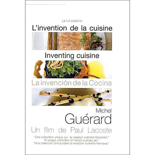 La Huit Production L'invention de la cuisine - Michel Guérard - Le DVD
