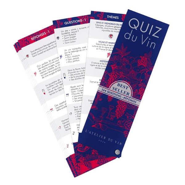 L'atelier du vin Quiz du vin - Le quizz