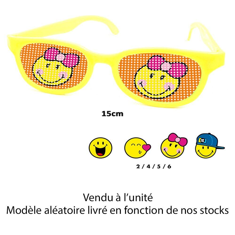 Générique LUNETTES FUN SMILEY 15CM