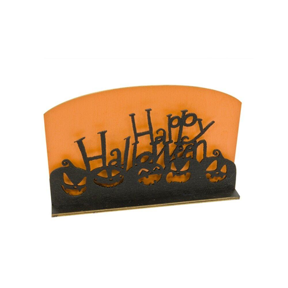 Générique DÉCORATION DE TABLE HAPPY HALLOWEEN 12X20CM