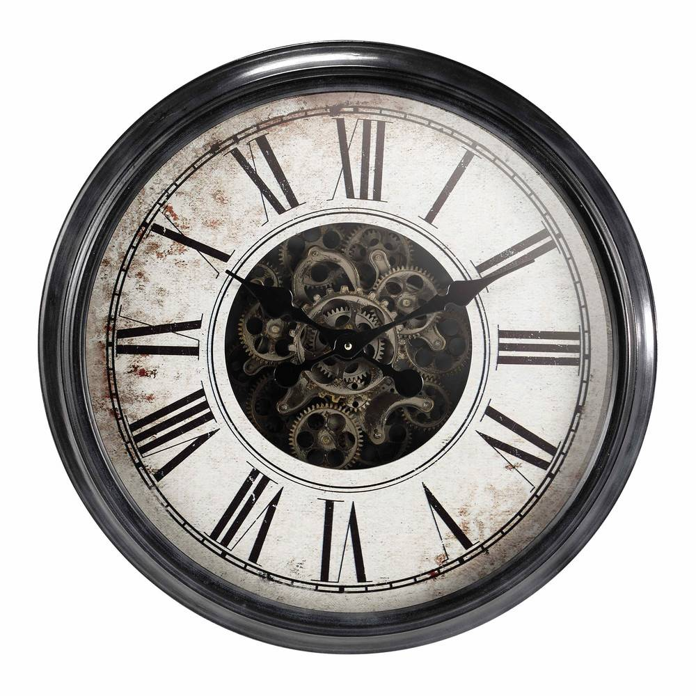 Maisons du Monde Horloge en métal D62