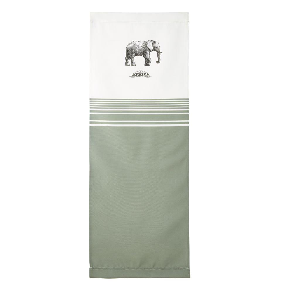 Maisons du Monde Toile imprimé éléphant compatible avec chilienne PANAMA