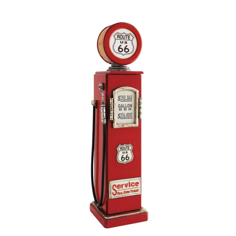 Maisons du Monde Lampe range CD rouge H95 ROUTE 66
