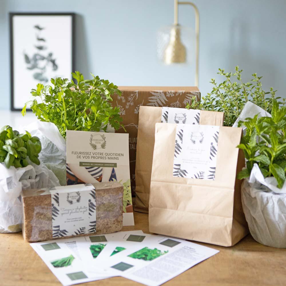Réconciliation Végétale Kit de jardinage spécial plantes aromatiques