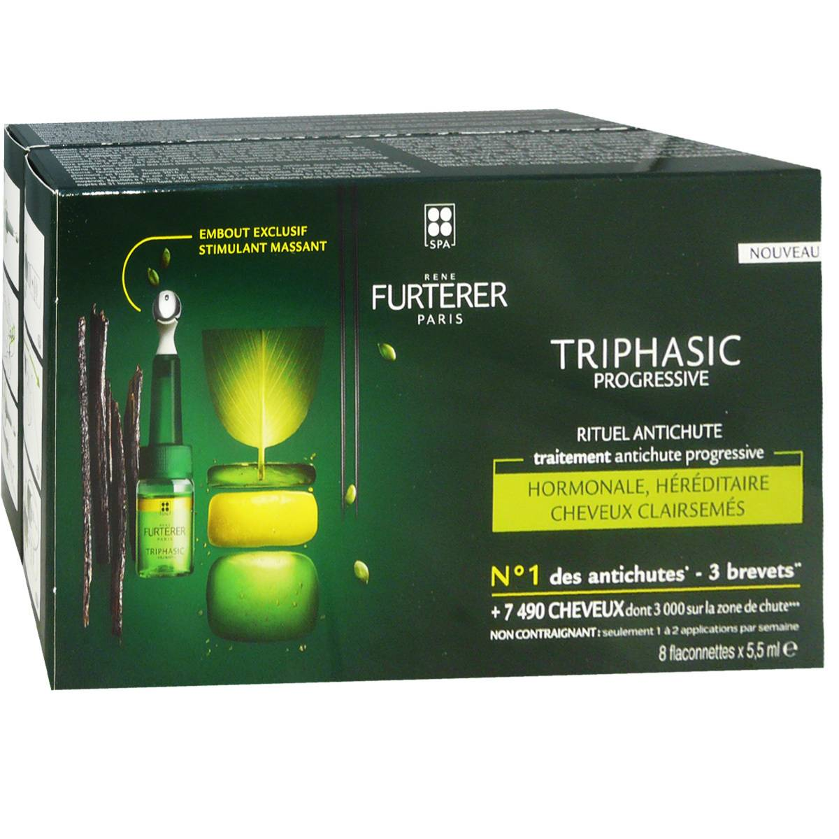 Rene furterer triphasic progressive rituel anti-chute