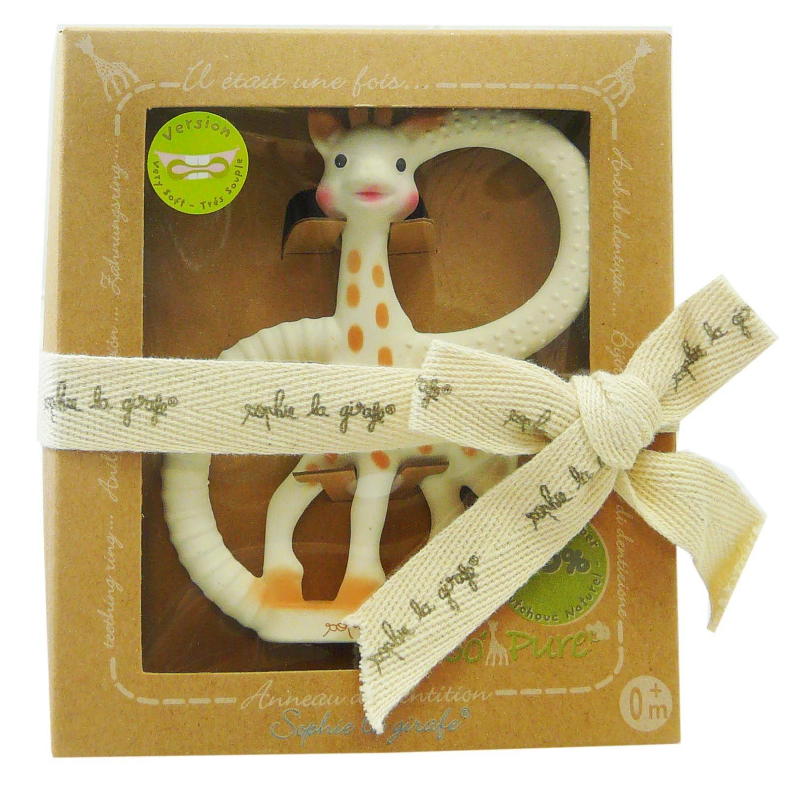 Sophie la girafe anneau de dentition tres souple