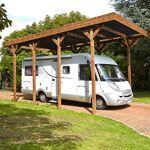 Maisonetstyles Carport autoportant en bois traité autoclave pour camping... par LeGuide.com Publicité