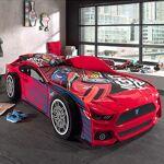 Maisonetstyles Lit voiture panthere 90x200 cm rouge - CARINO Ajoutez... par LeGuide.com Publicité