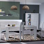 Maisonetstyles Table à manger avec allonge 180/260x90x76 cm chêne grisé... par LeGuide.com Publicité