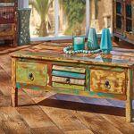 Maisonetstyles Table basse 110x62x43 cm en bois recyclé multicolore Modernisez... par LeGuide.com Publicité