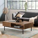 Maisonetstyles Table basse 2 tiroirs 120 cm en acacia et métal - KEOPS... par LeGuide.com Publicité
