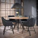 Maisonetstyles Table ronde 120 cm en acacia naturel et 4 fauteuils en... par LeGuide.com Publicité