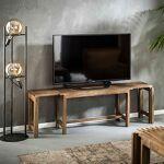 Maisonetstyles Meuble TV extensible 153x34x46 cm en manguier massif -... par LeGuide.com Publicité