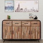 Maisonetstyles Buffet 4 portes et 4 tiroirs en teck recyclé - JAKARTA... par LeGuide.com Publicité
