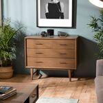 Maisonetstyles Commode 4 tiroirs en bois de Mindi - CASSY Laissez-vous... par LeGuide.com Publicité