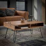 Maisonetstyles Table basse 100x60x45 cm en acacia massif - IOANIS Souhaitez... par LeGuide.com Publicité