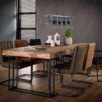 Maisonetstyles Table à manger 240 cm en teck recyclé - TREKA Créez le... par LeGuide.com Publicité