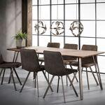 Maisonetstyles Table à manger 160 cm avec décor chêne brun - CLEO Vous... par LeGuide.com Publicité