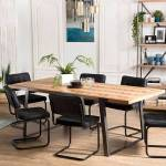 Maisonetstyles Table à manger 220x100x78 cm en sapin et métal - KARLY... par LeGuide.com Publicité