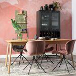 Maisonetstyles Table à manger 180/240x80x76 cm décor frêne naturel -... par LeGuide.com Publicité
