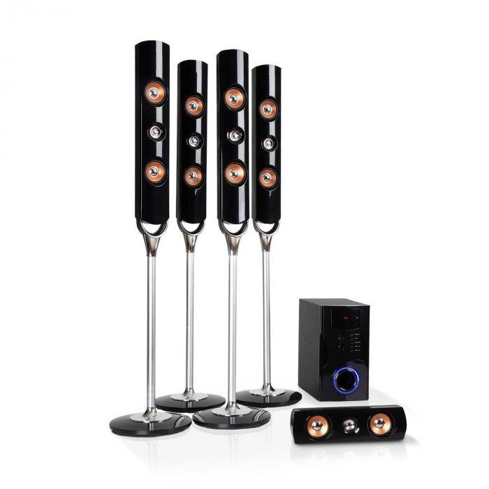 Auna Areal Nobility Système surround 5.1 canaux Bluetooth 3.0 USB SD AUX 120W RMS