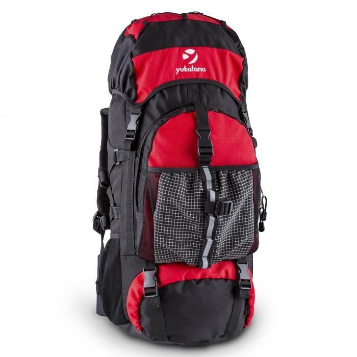 Yukatana Thurwieser RD Sac à dos trekking 55 L nylon étanche rouge