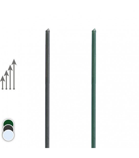 Barre de tension - Couleur - Vert 6005, Hauteur - Ht 1m25